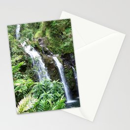 Three Hawaiian Waterfalls Stationery Cards