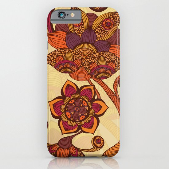Boho Flowers iPhone & iPod Case
