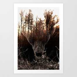 Raw Nature - Stian Norum collab Art Print