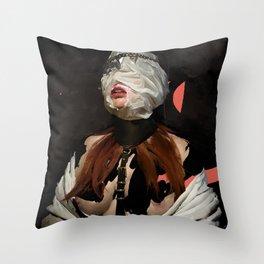 TENACIOUS GRIP Throw Pillow