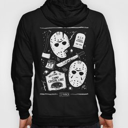 Welcome to Camp Crystal Lake! Hoody
