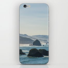 Haystack Rock from Crescent Point iPhone Skin