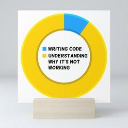 Coding Mini Art Print