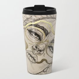 Golden loss Metal Travel Mug