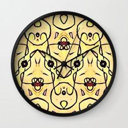 """""""Les liens"""" Wall Clock"""