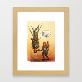 Valérian and Laureline Framed Art Print