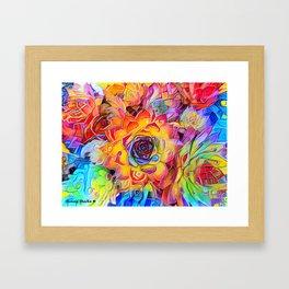 Succulent Madness Framed Art Print
