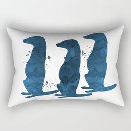 Meerkats Rectangular Pillow