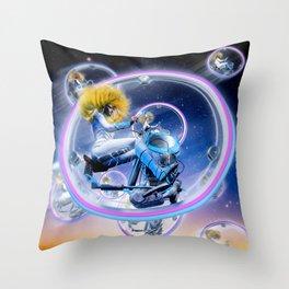 Wind Surfers II (Part 2) Throw Pillow