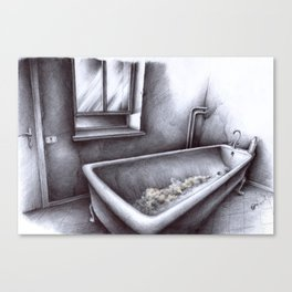 La vasca Canvas Print