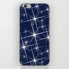 Indigo Navy Blue Starry Night iPhone Skin