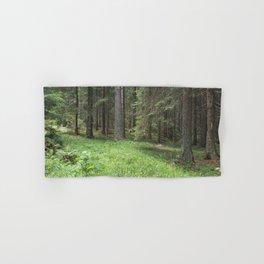 Pine forest Hand & Bath Towel