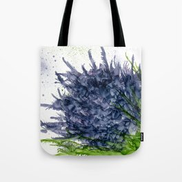 Purple Detonation Tote Bag