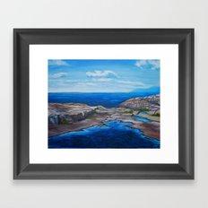 Tee Harbour  Framed Art Print
