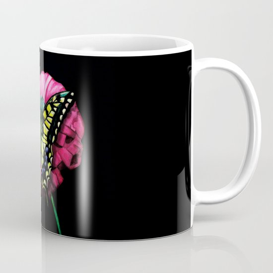 Watercolor Butterfly Mug