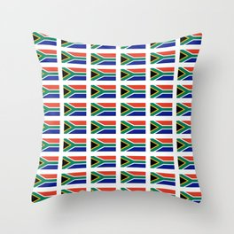 flag south africa 2,  African,Afrikaans,Mandela,apartheid, Johannesburg,Soweto,Pretoria,Durban,Tembi Throw Pillow
