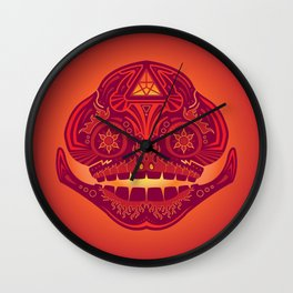 Goron Sugar Skull Wall Clock