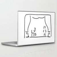 actor Laptop & iPad Skins featuring actor theatre stage by Lineamentum