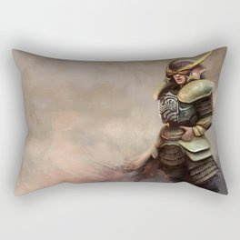 Samurai Rectangular Pillow