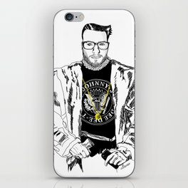 Lord WTF from Madrid is in da hause iPhone Skin