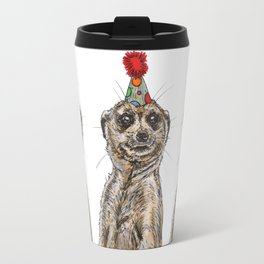 Meerkat Party Travel Mug