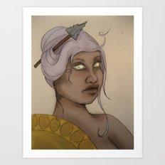 Primal Athena  Art Print