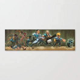 tf2 conga Canvas Print
