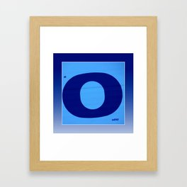 Blue Monday Framed Art Print