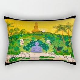 Nirvana At Sunset Rectangular Pillow