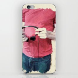 Headphones iPhone Skin