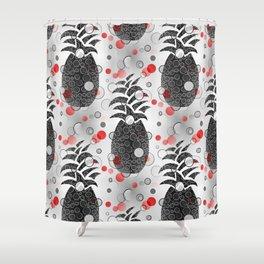 Pineapple Arrangement Shower Curtain