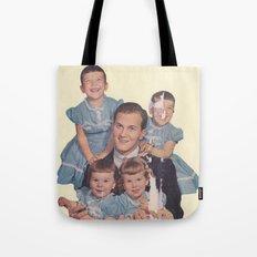 He's a family man Tote Bag