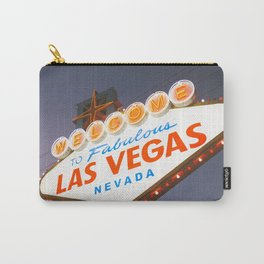 Welcome to Fabulous Las Vegas Sign Carry-All Pouch
