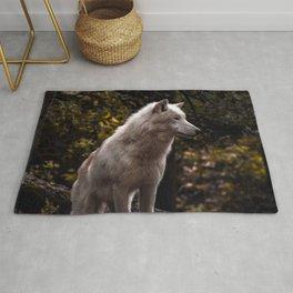 White Wolf Rug
