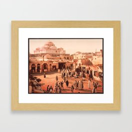 Vintage Babylon photograph Framed Art Print