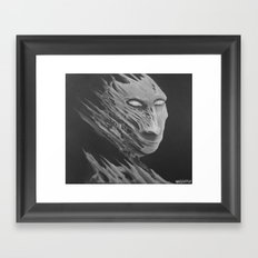 Mr Gray Framed Art Print