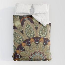 Fractal Scorpion Flower Mandala 20 Comforters
