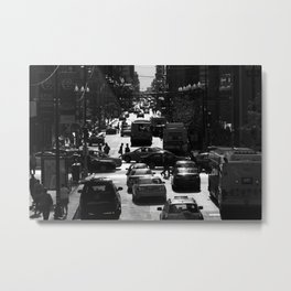 Chicago Rush Hour Metal Print