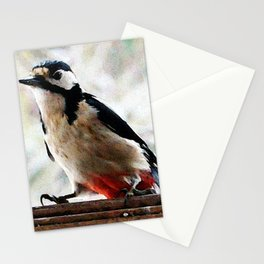 visit in winter Stationery Cards