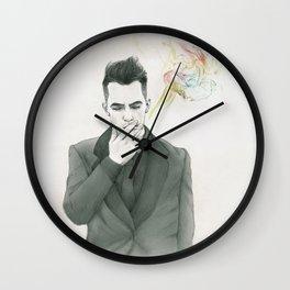 Worse Than Nicotine Wall Clock