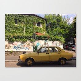 Bucharest #1 Canvas Print