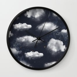 Cloudy Sky Weather Wall Clock