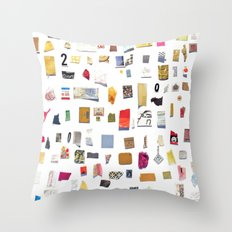 Out of Merely Not Nothing Throw Pillow