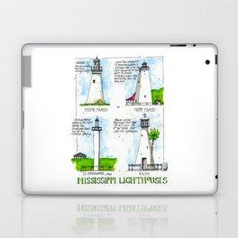 Mississippi Lighthouses Laptop & iPad Skin