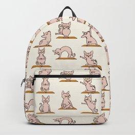 Sphynx Cat Yoga Backpack