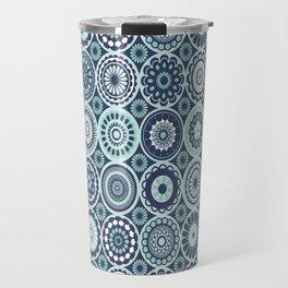 Moroccan Floral Travel Mug