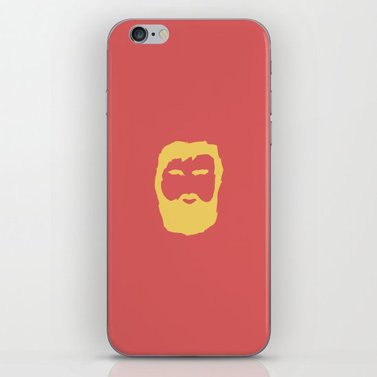 The Beard iPhone & iPod Skin