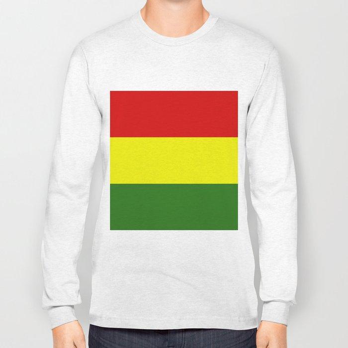 Bolivia flag Long Sleeve T-shirt