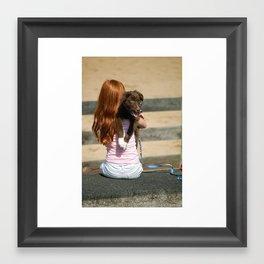 Pup 2 Framed Art Print