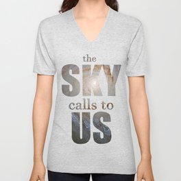 Space is Calling to Me Unisex V-Neck